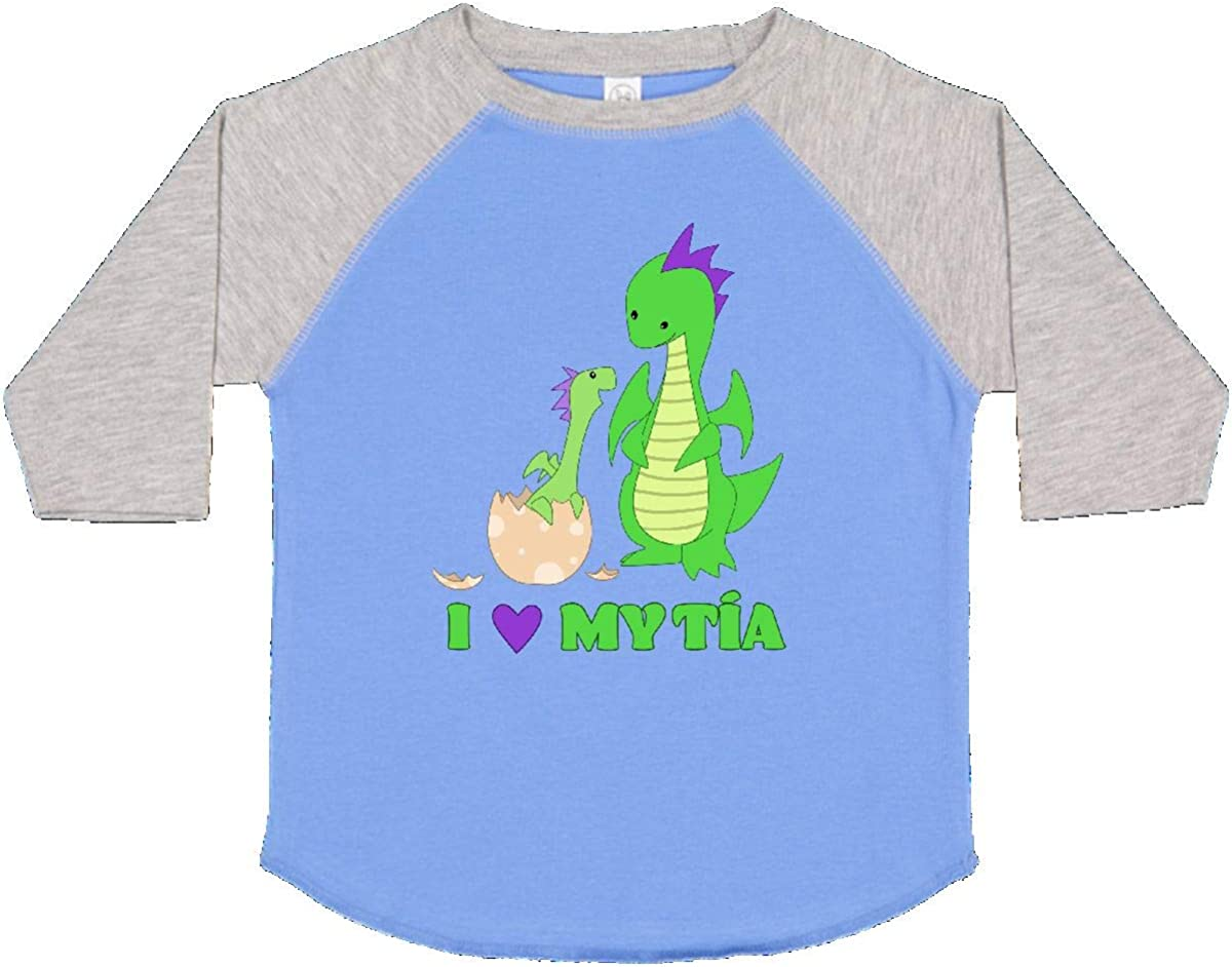 inktastic I Love My T/ía Toddler T-Shirt
