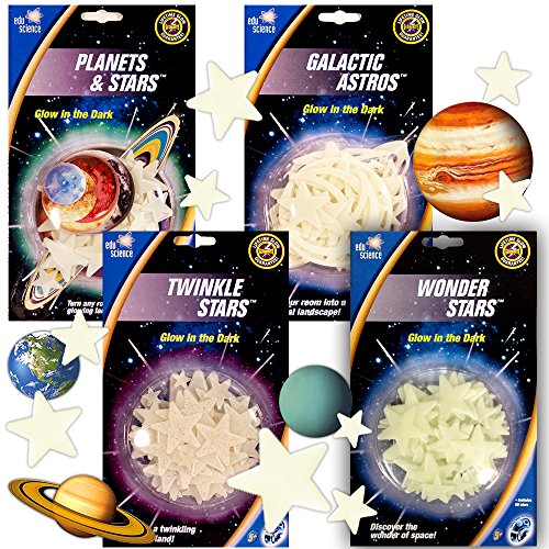 Edu Science Glow In The Dark Stars and Planets Ultimate Gala