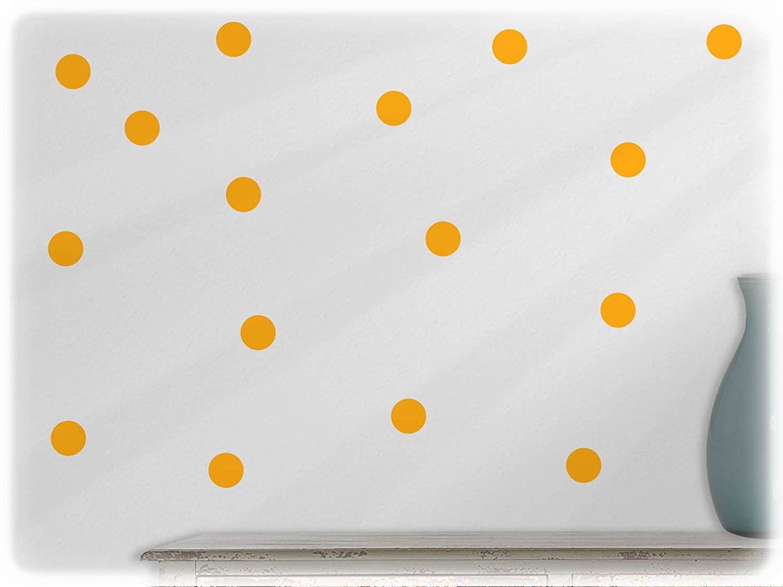 wandfabrik Polka Dotsje 3cm74-mittelgrau_hg wandfabrik-Wandtattoo-54 hochwertige dots