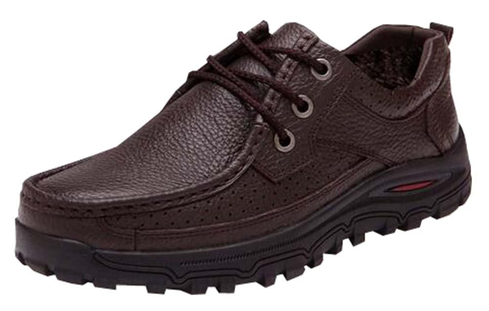 2016 Herbst und Winter Sportschuhe der Mauml;nner tragen im Freienschuhe Bergschuhe der beilauml;ufigen Mauml;nner Schuhe  EU415=CN43|Brown plus Baumwolle