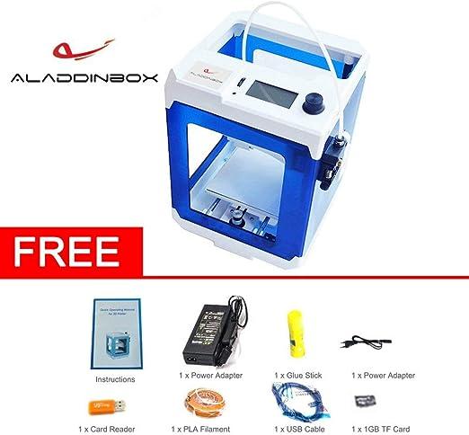 Aladdinbox SkyCube Portable EU Plug Desktop 3D Modelo de Impresora ...