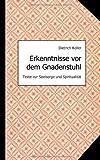 Erkenntnisse Vor Dem Gnadenstuhl, Dietrich Koller, 3842333579
