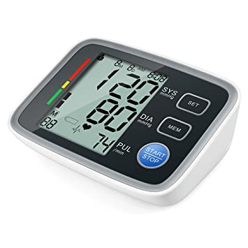 Amazon.com: Elera Digital Automatic Upper Arm Blood Pressure Monitor& Meter Sphgmomanometer (Upper Arm): Health & Personal Care
