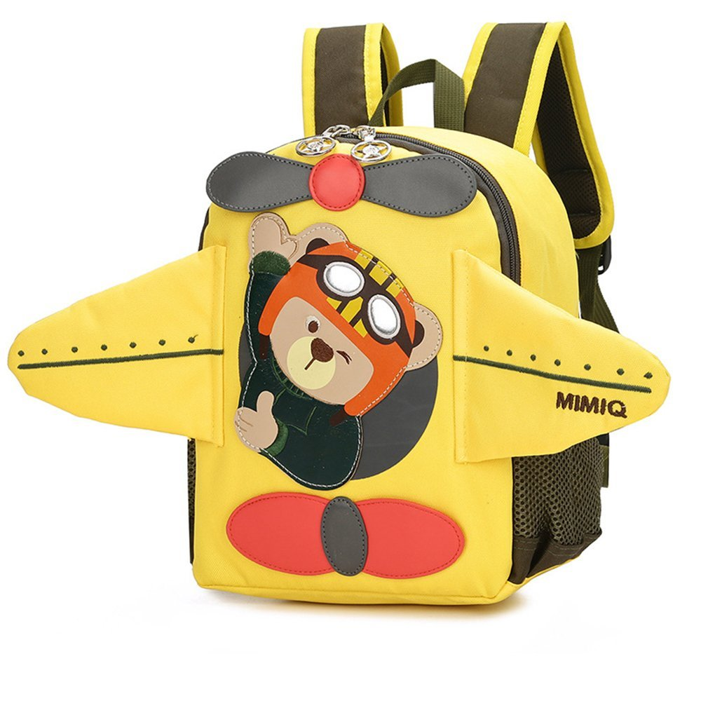 Toddler Sidekick Backpack with Leash Airplane 3D Mini Animal Backpacks for Kids Birthday Gift