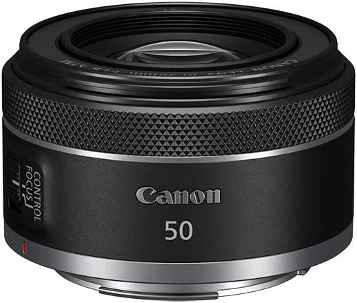 Canon RF50mm F1.8 STM for Canon Full Frame Mirrorless RF Mount Cameras [EOS R, EOS RP, EOS R5, EOS R6](4515C002)