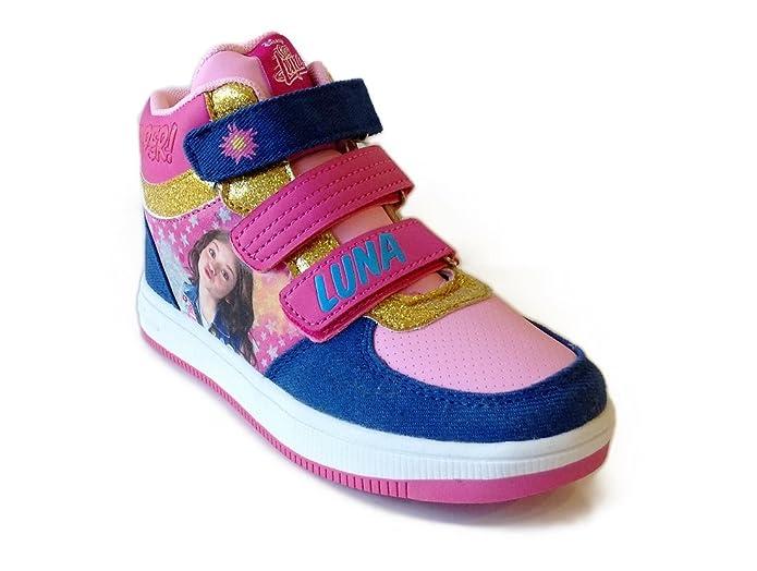 Disney Kids Sneaker In Tela Luci Trolls Multicolore DjXJSsg