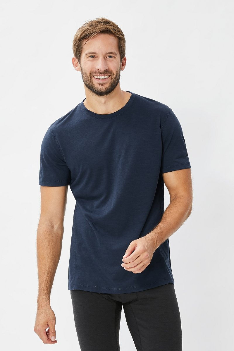 Super Natural M Base Tee 140 Thermo-Shirt, Herren