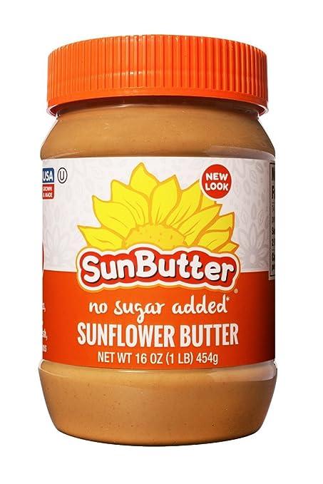 SunButter - Mantequilla del girasol ninguna azúcar agregada - 16 oz.