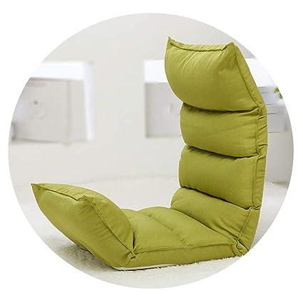 Amazon.com: Floor Foldable Modern Chaise Lounge Chair Living Room ...