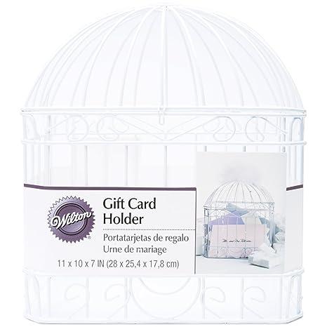 Amazon.com: Wilton Reception Gift Card Holder, White: Kitchen & Dining