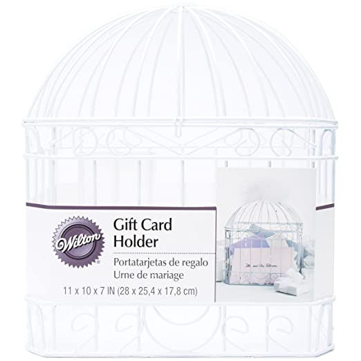 Amazon Wilton Reception Gift Card Holder White Kitchen Dining – Wedding Reception Gift Card Holder