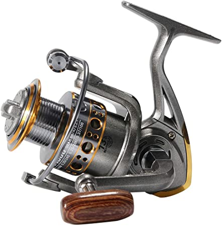 13 rodamiento de Bolas Carrete de Pesca de Metal Ruedas Carrete Spinning Carrete 5.2:1 1000-7000series de Pesca Carretes de mar Barco Spinning Wheel,7000model: Amazon.es: Hogar