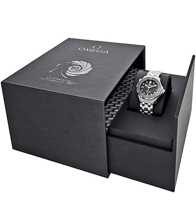 Amazon.com: Omega Seamaster 007 James Bond 50Th Anniversary Limited Edtion Midsize Watch 212.30.36.20.51.001: Watches
