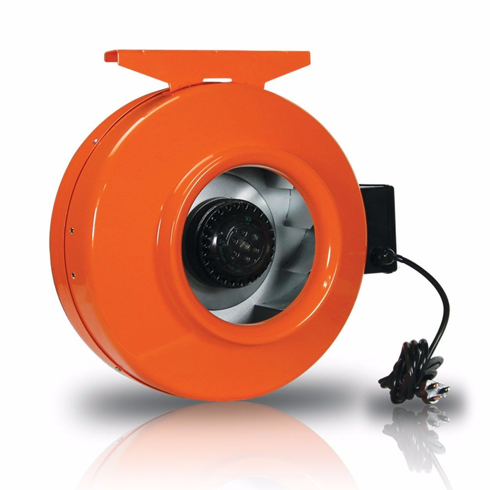 GrowBright High-Velocity 8-Inch Inline Duct Fan