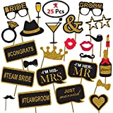 Generic Party Propz Bachelorette Theme Photobooth(Pack Of 36)