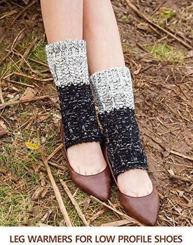 Bed Fremont Sandals Yoga Flip Flop House Fashion Spa Pedicure Hand Knit Leg warmers Toeless Socks