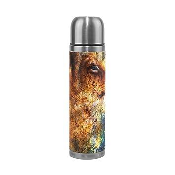 coosun poco cachorro de león cabeza Animal pintura matraces ...