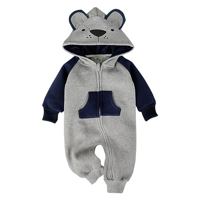 Amazon.com: Bebone - Mono de forro polar con capucha para ...
