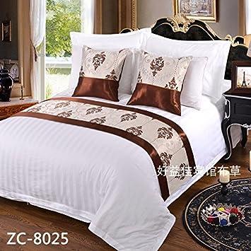 Ropa de cama cama Cama toalla gaestgiveriet hotel cama cubierta de colchon mesa bandera BANDERA,H: Amazon.es: Hogar