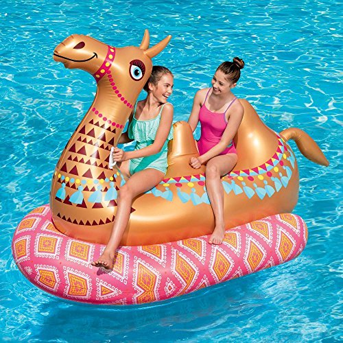 Play Day Mega Inflatable Ride-On Camel Float (Pool Mega)