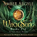 Witch Song, Books 1-3 + Bonus Novella Audiobook by Amber Argyle Narrated by Melissa Reizian Frank