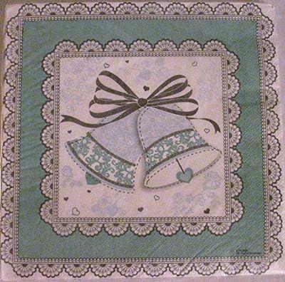 Wedding Bells, Bridal Shower lunch napkins
