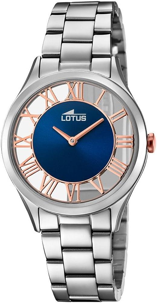 Lotus Reloj Mujer de Cuarzo analógico con Correa en Acero Inoxidable 18395/6