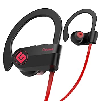 Buy Geekee Wireless Bluetooth Headphones Waterproof Ipx7 Best Sport In Ear Earbuds Earphones W Remote And Mic Hifi Stereo Richer Bass 9 Hrs Playback Noise Cancelling Headsets Upgraded Online At Low Prices In India