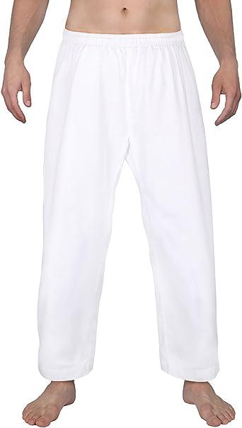 Century Student Elastic Waist Martial Arts Karate Pant White Size 2