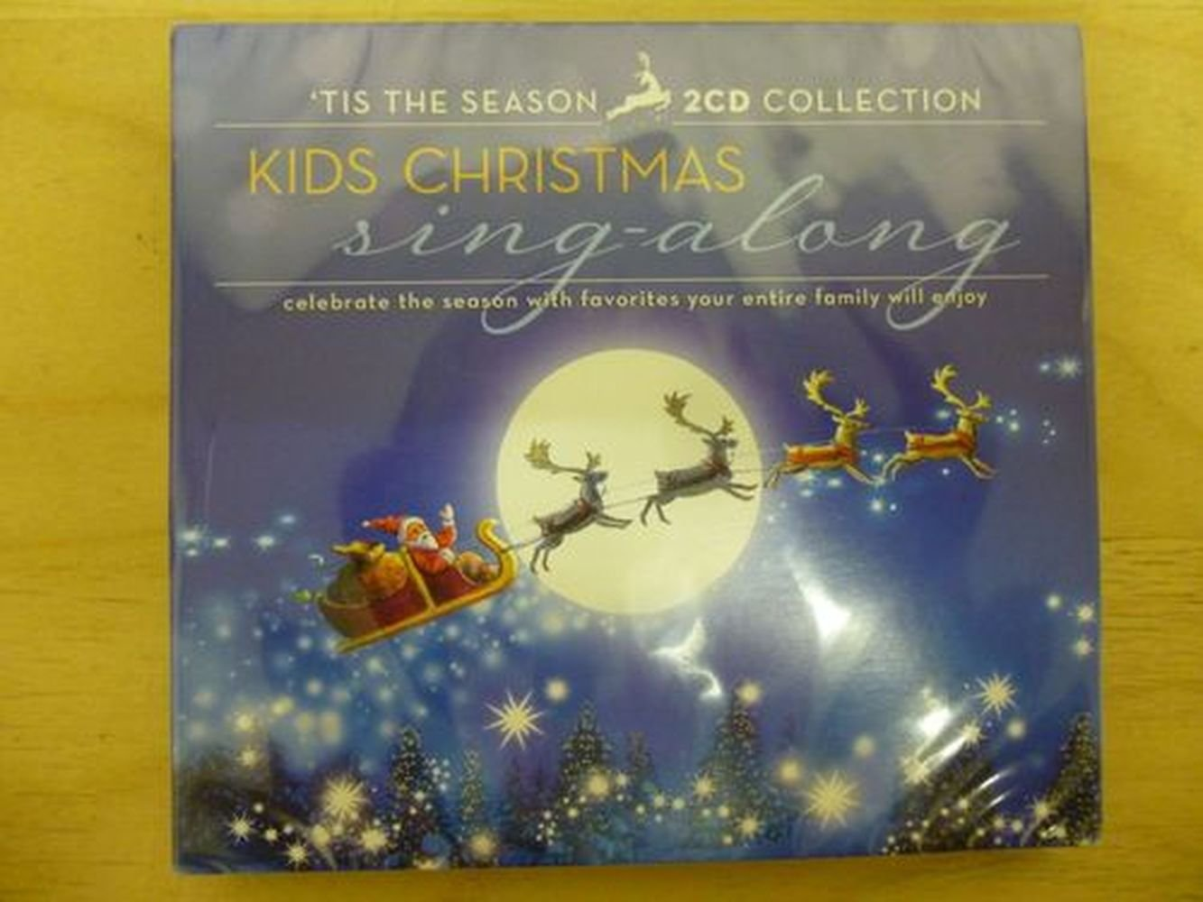Kids Christmas Sing-Along - 2008 Holiday Cd - Includes 24 Songs on 2 ...