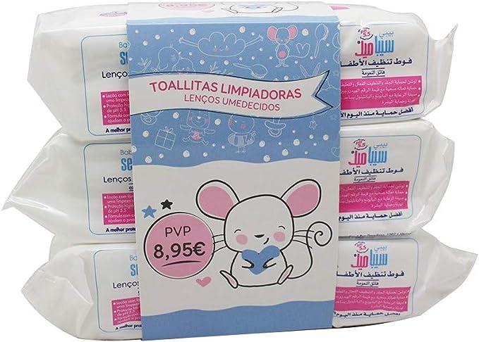 Baby Sebamed Toallitas Limpiadoras, 72un. Pack 3un.: Amazon.es: Belleza