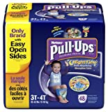 Health & Personal Care : Huggies Pull-Ups Training Pants, Nighttime, Boys, 3T-4T, 48 Count