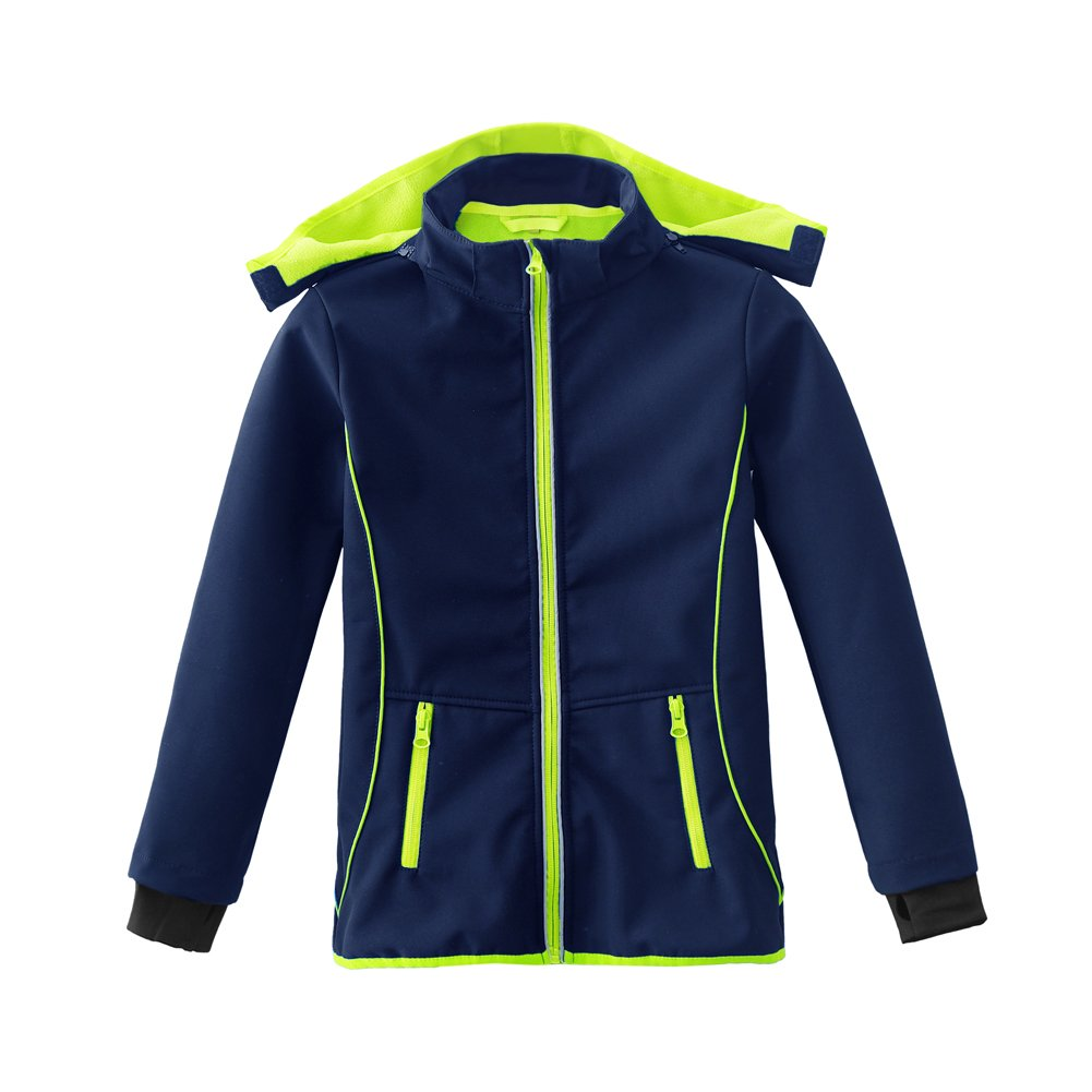 M2C Boys & Girls Hooded Fleece Lined Waterproof Windproof Jacket AMHX3021R0110M2C