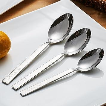 LI Spoon Cuchara de Acero Inoxidable/cucharas/beba una ...