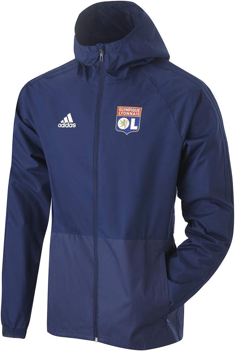 Olympique Lyonnais Coupe Vent Bleu Adidas OL 1920: Amazon