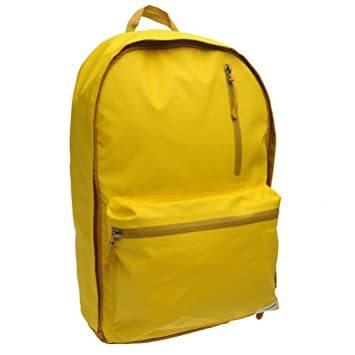 Converse Rubber Backpack Yellow Rucksack Sports Bag Gymbag Kitbag H  46cm   W  26cm 358324618afac