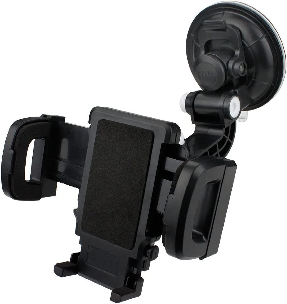EpicDealz Heavy Duty Arm Universal Car Vent Mount Holder Stand 360 Degree Swivel Rotation Windshield /& Dashboard For For Samsung Galaxy Core Prime Prevail LTE G360 S820L