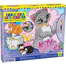 Sticky Mosaics Kit-Kitties