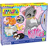 The Orb Factory Sticky Mosaics Kitties Craft Kit