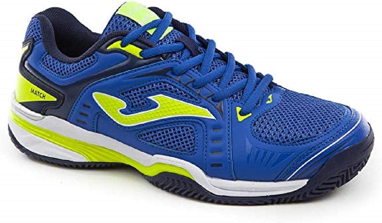 Joma T.Match Zapatillas de Tenis Hombre Clay - Mens Tennis Shoes Azul Size: 41 EU: Amazon.es: Zapatos y complementos