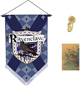 Garden and Bedroom Wall Flag Decoration for Harry Party Potter Cool Gryffindor Slytherin Hufflepuff Ravenclaw Banner[45X30CM]