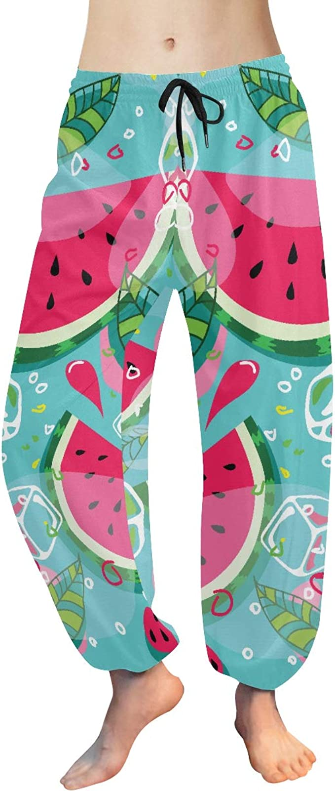 Yoga Leggings Pants Fruits Lightweight Bottoms