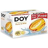 Doy Glycerin Transparent Pure Mild Soap (125g) (Pack of 3)