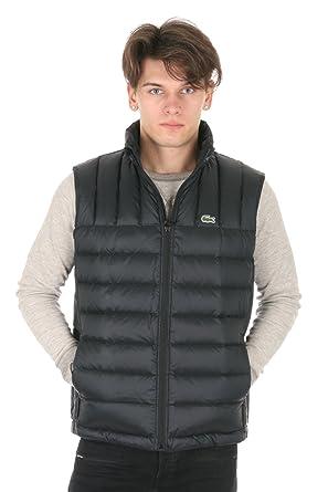 030a5d45a Lacoste Men s Packable Down Vest Black Navy Blue Outerwear 56 at ...