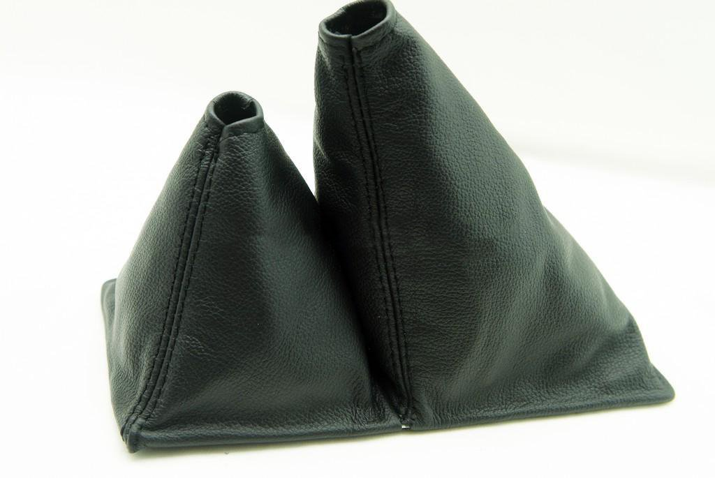 Fits 1989-1995 Toyota Truck 4x4 5spd Real Black Leather Shift Boot . (Leather Part Only) AAAUPHOLSTER