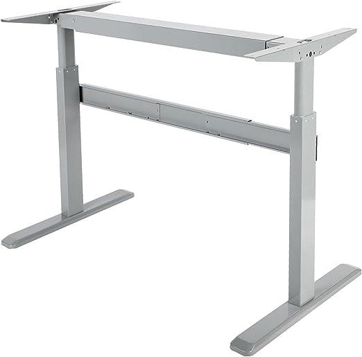 Maclean MC-726 - escritorio con ajuste manual, sin tapa, para ...