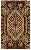 Rizzy Home Southwest Collection SU8105 Handtufted 100% Wool Area Rug 2' x 3' Multi-cream