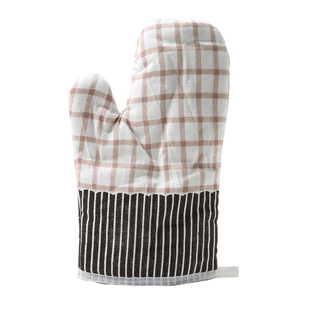 Gallity 1 Pcs Kitchen Cooking Cotton Microwave Oven Gloves Mitts Pot Pad Heat Proof Protected