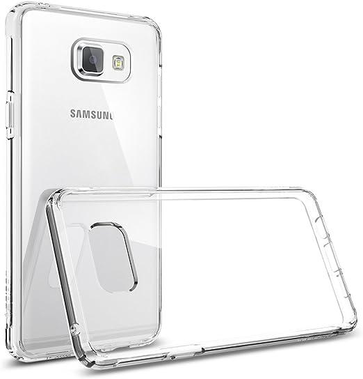 Coque Samsung Galaxy A5 2016, Spigen [Ultra Hybrid] Premium Coussin d'air [Crystal Clear] ** Arrière en PC Bumper en TPU ** Anti-choc Ultime / ...