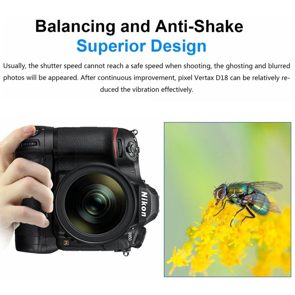 Pixel Vertax E21 Battery Grip for Canon EOS 6D Mark II Camera ...